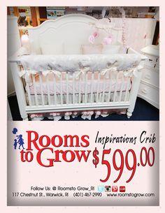 #Specials: Inspirations Crib | RoomsToGrow.com |