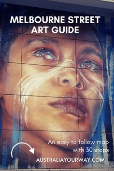 Street Art in Melbourne Guide +Map Canada Travel, Asia Travel, Travel Usa, Travel Expert, Travel Tips, Australian Photography, Melbourne Street, Murals Street Art, Australia Travel
