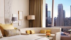 Another brilliant hotel interior by YabuPushelberg Four Seasons Toronto