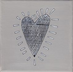 """""""heart cristall"""", teal, 15x15cm, € 28,- Enamel, Teal, Cards, Shopping, Accessories, Drawing Rooms, Vitreous Enamel, Enamels, Map"""