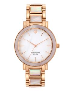 Jewellery & Accessories | Jewellery & Accessories | large light pink mother of pearl rose gold gramercy | Hudson's Bay