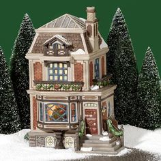 Fred Holiwell's House Dickens Village -A Christmas Carol Piece -Love this! Dickens Christmas Carol, A Christmas Story, Christmas Home, Christmas Holidays, Christmas Ideas, Christmas Crafts, Merry Christmas, Christmas Decorations, Christmas Ornaments