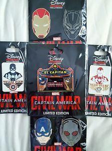 2016 Disney Avengers Booster Iron Man Pin Rare