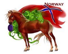 Horse Hetalia: Norway by Moon-illusion