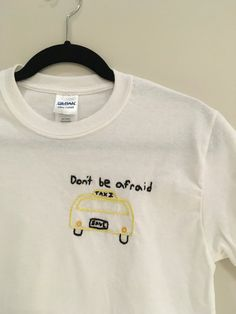 Taxi Cab Embrodiered T-Shirt