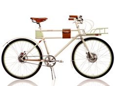 Bike Lust—I've seen one in real life, and these things are as beautiful as you'd expect. Faraday Porteur by Faraday Bikes, via Kickstarter.