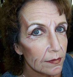 Afbeeldingsresultaten voor old age makeup Ghost Makeup, Movie Makeup, Makeup Class, Makeup Studio, Cosplay Makeup, Costume Makeup, Old Age Makeup, Makeup Portfolio, Special Makeup