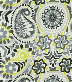 Waverly Home Decor Print Fabric Paisley Prism Domino, , hi-res