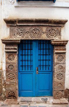 Portas... #peloMundoafora - Cusco, Peru.