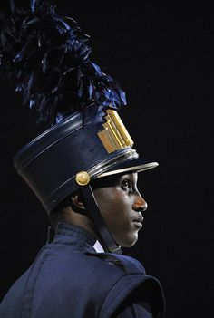 "PORTRAIT 1ST PLACE 2013 // ""Drum Major"" by Emily  Hinkle,  Spartanburg High School [Spartanburg, SC]"
