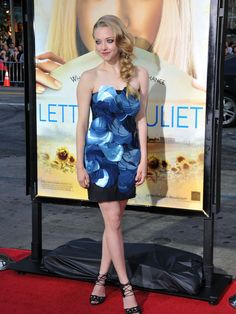 "Amanda Seyfried ""Letters to Juliet"" dress"