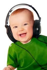babys vinden het leuk om naar muziek te luisteren