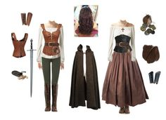 A fashion look from August 2015 featuring Yves Saint Laurent, 7 For All Mankind leggings и John Fluevog boots. Browse and shop related looks. Renaissance Costume, Medieval Costume, Medieval Dress, Medieval Clothing, Women's Clothing, Medieval Fashion, Clothing Stores, Viking Costume, Costume Roi
