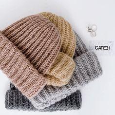 Knit Beanie, Beanie Hats, Beanies, Knitting Projects, Knitting Patterns, Knit Crochet, Crochet Hats, Baby Hats, Hats For Women