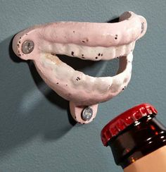 34 Creepy Bottle Poppers - From False Teeth Bottle Openers to Living Dead Sud Drinkers