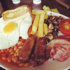 The Big Fry-Up. Most definitely not the low-cholestrol option :)