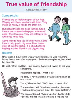 Character education and life skills grade 2 lesson 8 True value of friendship 3