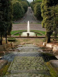 Villa Torlonia | Frascati, Rome | We lived just down the street from here on study abroad!