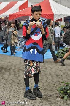 FASHION JAPAN: Kelly (Shibuya,Tokyo,LIM CODE,Daniel Palillo,Moschino,FREITAG,Buffalo)