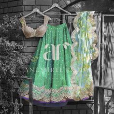 Lush green silhouettes and floral prints in perfect harmony for this  Summer Love.  03 April 2017