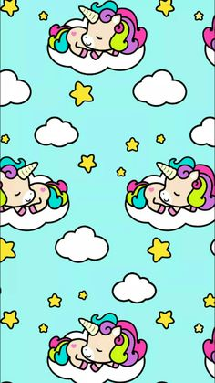 Check out this awesome collection of Kawaii Unicorn wallpapers, with 57 Kawaii Unicorn wallpaper pictures for your desktop, phone or tablet. Unicorn Wallpaper Cute, Cute Wallpaper For Phone, Trendy Wallpaper, Cute Wallpapers, Wallpapers Android, Unicorn Drawing, Unicorn Art, Cute Unicorn, Rainbow Unicorn