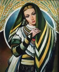 Bulgarian woman IV by Stanchev
