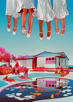 The Semplica-Girl Diaries, The New Yorker : Martin Ansin, Illustrator
