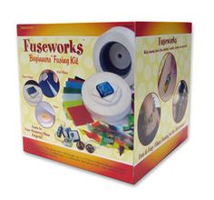 Use the Fuseworks Microwave Kiln Kit to make custom fused glass jewelry of your own. Get your glass, tools and instruction all in one kit Fused Glass Supplies, Fused Glass Jewelry, Ceramic Jewelry, Reggio Emilia, Glass Fusing Projects, Glass Cutter, Fused Glass Ornaments, Custom Glass, Glass Blocks