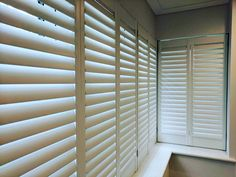 Today we are dressing up squire bay windows with shutters from the California range with 62 mm louvres • #shutters #squire #bay #window #decoration #California #range #wood #windowshutters #bespoke #windowtreatments #handcrafted #windows #woodblinds #plantationshutters #modern #style #decoratingideas #interiorideas #interior•