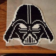 Darth Vader - Star Wars hama beads by retroreactionarts