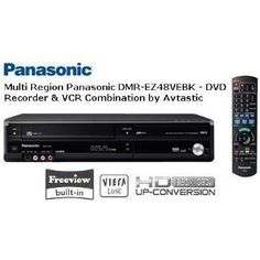 Multi Region Panasonic DMR-EZ48VEBK - DVD Recorder & VCR Combination - With 1080P Up-Conversion and Freeview - Black  has been published on  http://flat-screen-television.co.uk/tvs-audio-video/dvd-vcr-combos/multi-region-panasonic-dmrez48vebk-dvd-recorder-vcr-combination-with-1080p-upconversion-and-freeview-black-couk/