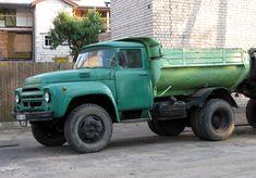 ZiL-130 dump truck