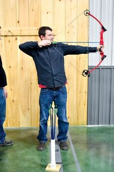 Learning the Ancient #Art of #Archery @Optivion