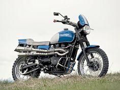 Triumph Scrambler by Rock'n'Ride