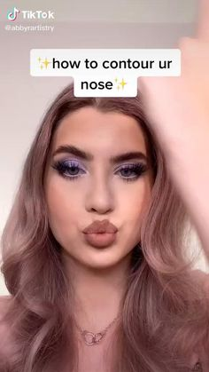 Nose Makeup, Edgy Makeup, Contour Makeup, Eyebrow Makeup, Skin Makeup, Go Feminin, Nose Contouring, Eye Makeup Designs, Makeup Looks Tutorial