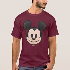 Shop Mickey Mouse Emoji T-Shirt created by MickeyAndFriends. Personalize it with photos & text or purchase as is! Duck Emoji, Funny Emoticons, Mickey Mouse T Shirt, Emoji Faces, Couple Shirts, Cute Disney, Funny Faces, Tshirt Colors, Colorful Shirts