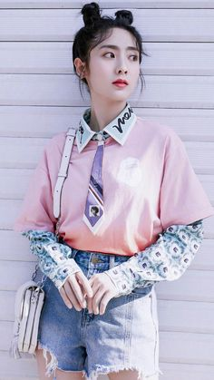 Korean Drama Tv, Teen Celebrities, Ulzzang Korean Girl, Chinese Actress, Asian Actors, Celebrity Crush, Cool Girl, Characters, Photoshoot