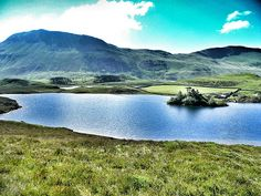 Cregennen Lakes, near Dolgellau - These are just up the road from where I stay.