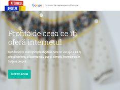 Google a lansat azi, 26 aprilie, Atelierul de Digital în România, ce dorește să…