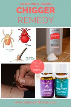 Look no further...a Chigger Remedy that actually works! All natural, easy and relieves the itch for good almost instantly.