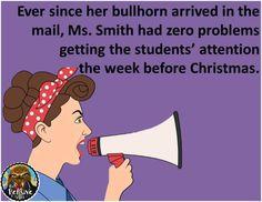 Teacher Humor from The Pensive Sloth Christmas in the Classroom #TeacherProblems