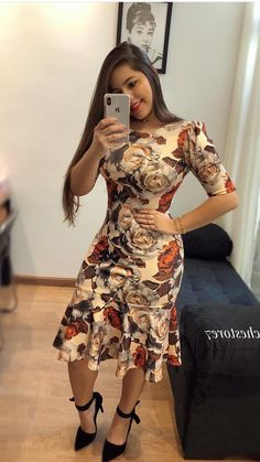 Tips for african fashion outfits 740 Day Dresses, Cute Dresses, Beautiful Dresses, Dress Outfits, Casual Dresses, Fashion Outfits, African Attire, African Dress, Trend Fashion