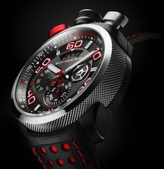 The BOLT-68, a bullhead watch that converts into a pocket watch.