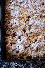 Składniki: Ciasto: 4 szklanki mąki pszennej 1 szklanka cukru pudru 5 żółtek 3 łyżki jogurtu greckiego 1 łyżeczk...