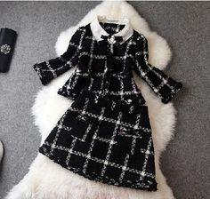 Cloth coat skirt (two-piece) CA922EA