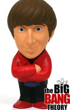 Howard Wolowitz - figura antiestres 14 cm #TheBigBangTheory #TBBT #AkibaCLub