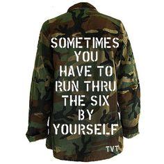 Vintage UNISEX - Custom Camo Jacket ❤ liked on Polyvore featuring outerwear, jackets, camoflauge jacket, unisex jackets, oversized denim jacket, camoflage jacket and vintage military jacket