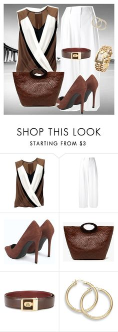 """Lunch Meeting"" by chauert ❤ liked on Polyvore featuring Diane Von Furstenberg and Lanvin"