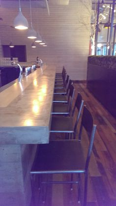 Steel bar stools by Metal Fred Designs Inc in Nashville TN