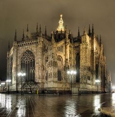 Milan, Italy-this was so awesome to see, tour and go to mass in.....miss my traveling time!
